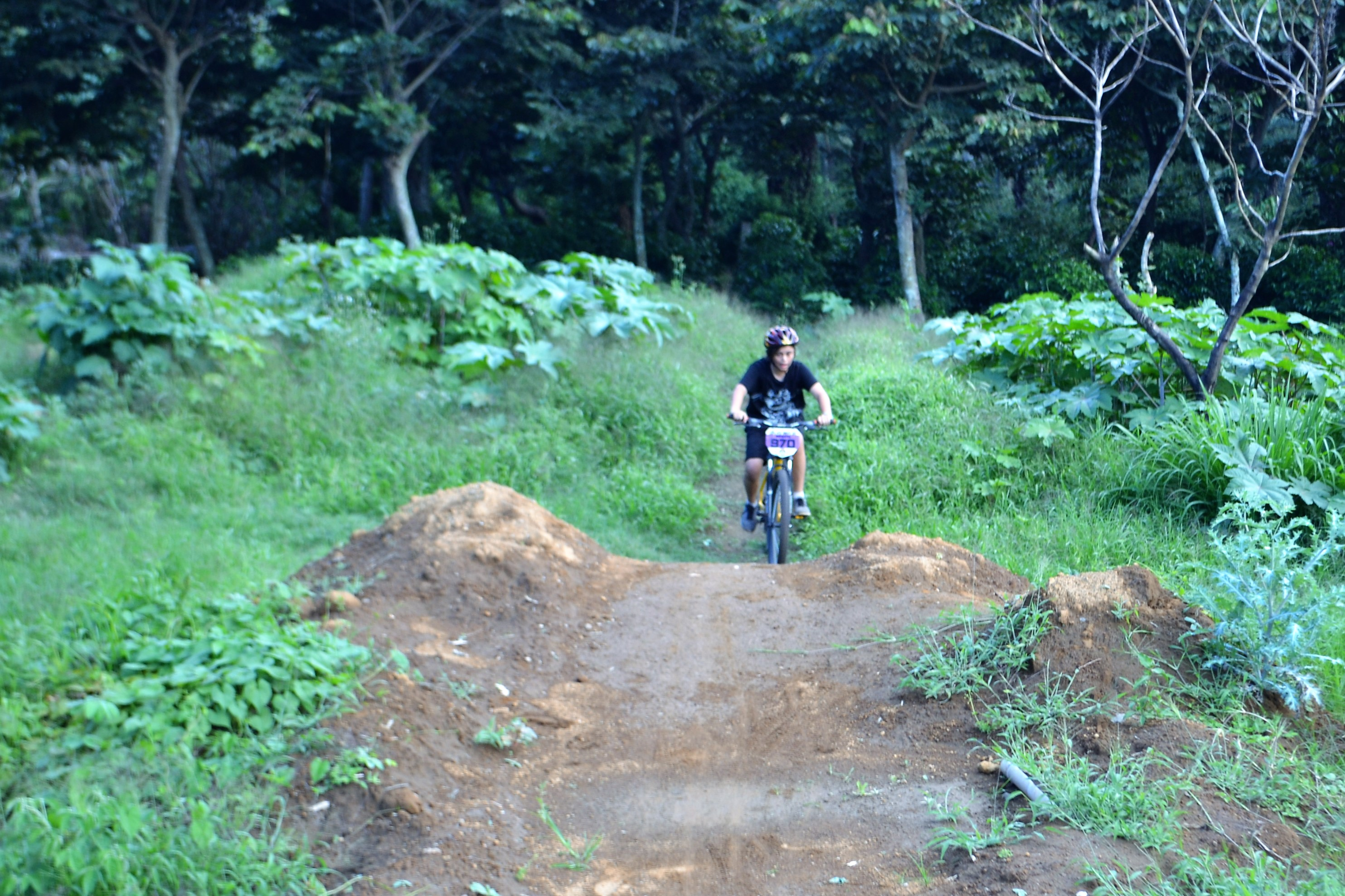 off road terrain for cycle training - local pump track