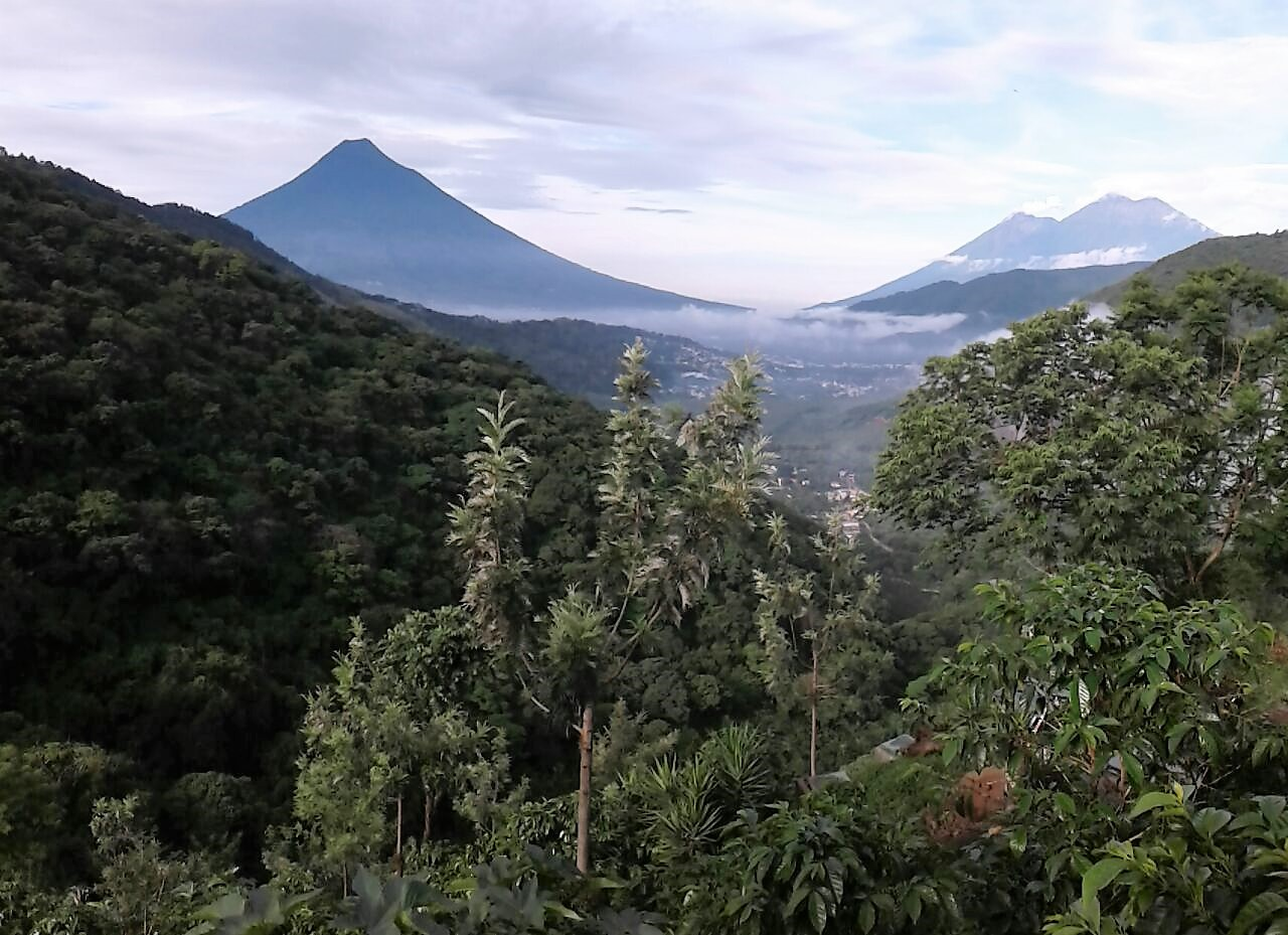 mountain biking in guatemala, bike park