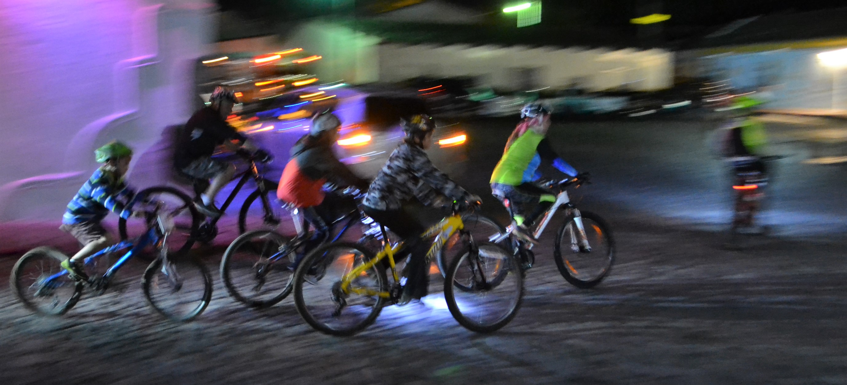night rider, antigua guatemala tour, visiting antigua, riding bikes with kids