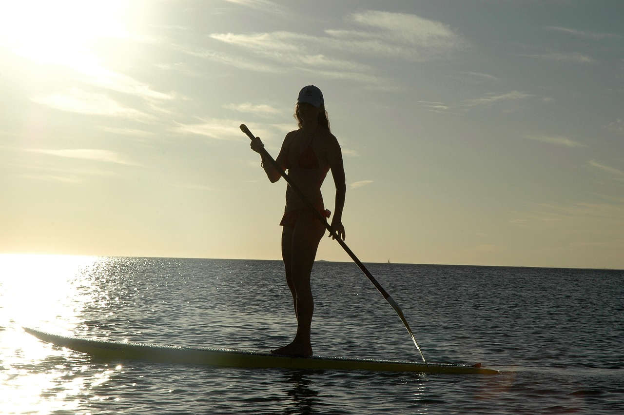 Top 5 Best Water Sports in California - paddle boarding