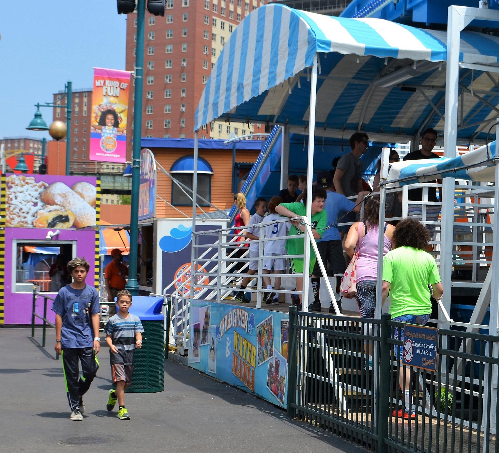 luna park kiddie rides in coney island