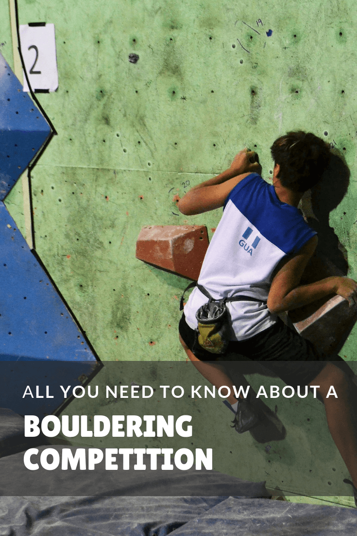 All you need to know about a bouldering competition