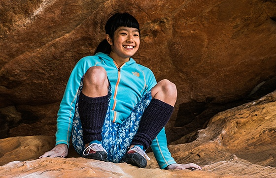 Female Rock Climbers - True Power