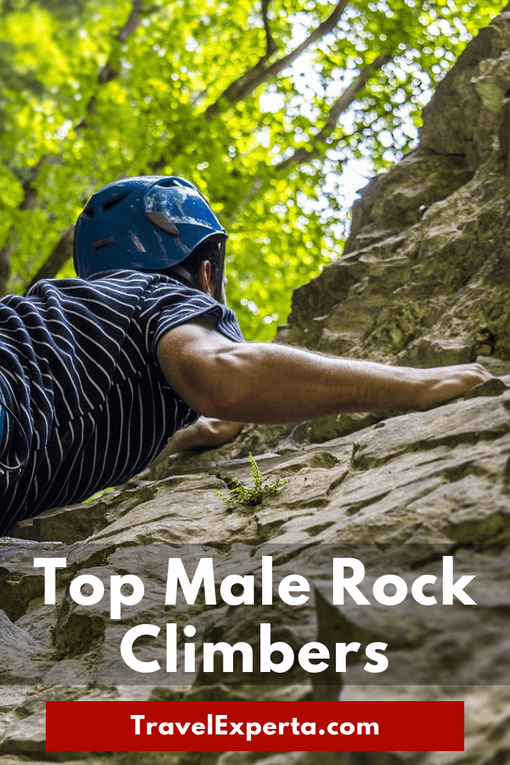 Climbing Inspiration - 7 of the Top Male Rock Climbers