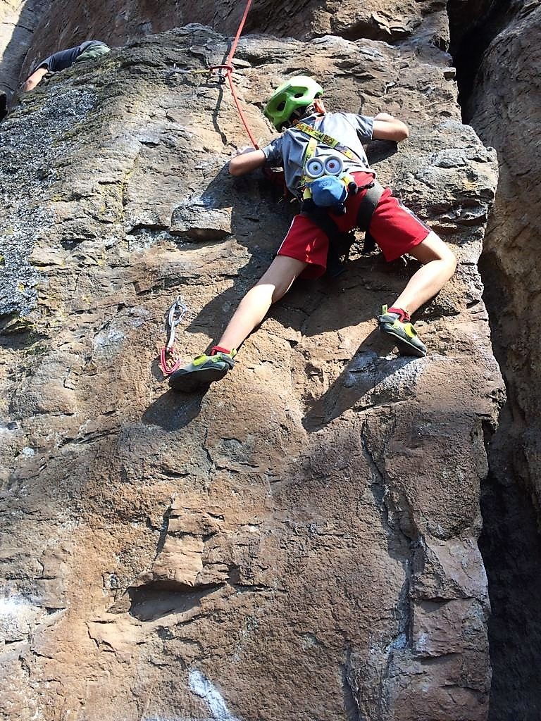 Rock Climbing and Climbing Hostel Birthday Fun