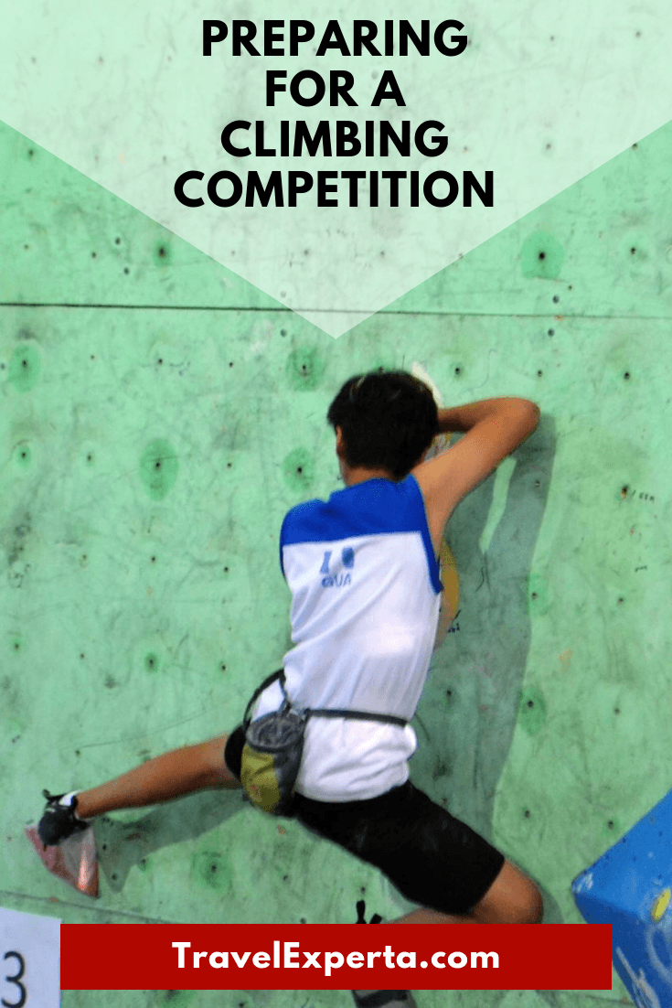 Preparing for a Climbing Competition