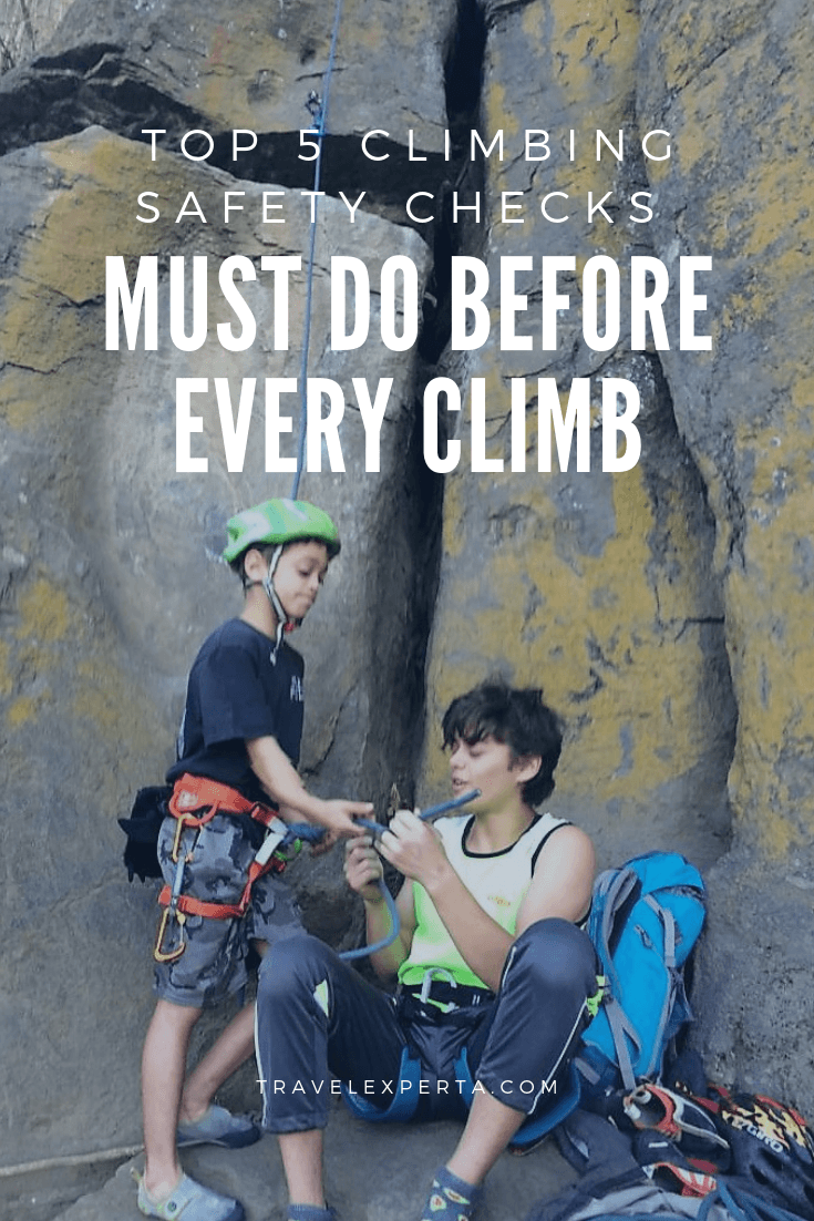 5 Climbing Safety Checks you MUST Do Before EVERY Climb