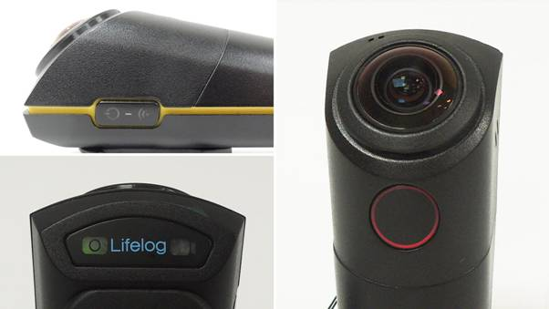A Wide-angle, Wearable, Easy-to-use Outdoor Camera