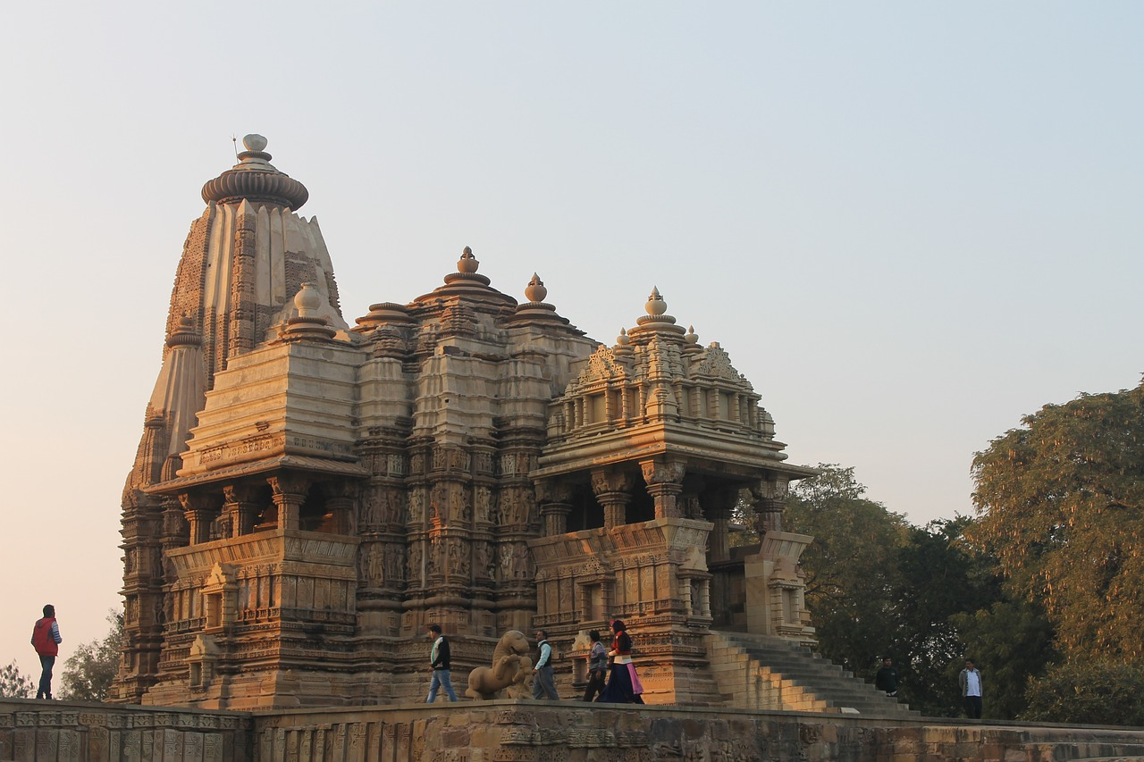 Visit Khajuraho Temple in India While Staying at The LaLit