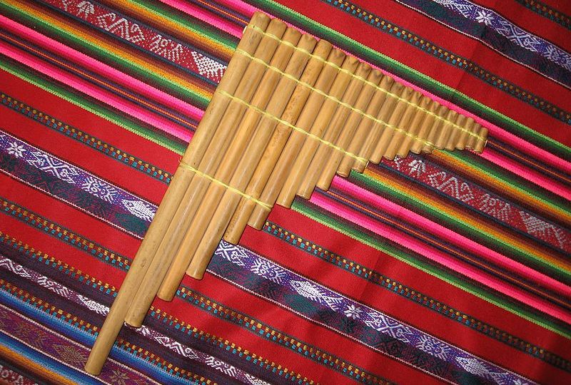 Musical Instruments of Latin America - La antara