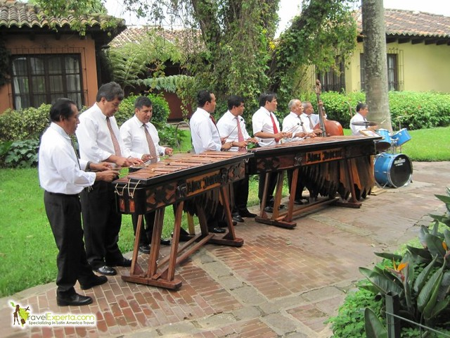 Musical Instruments of Latin America - Marimba