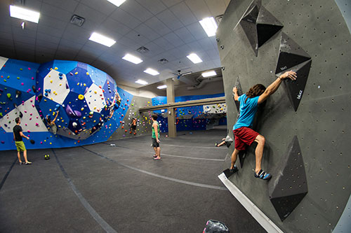 Earth Trek Indoor Climbing Gym in the Washington DC