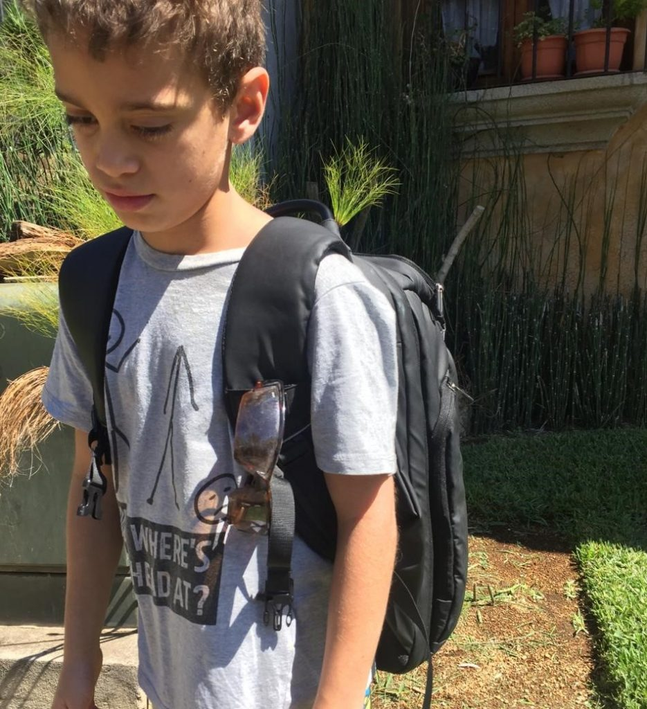travel backpack review nayo smart