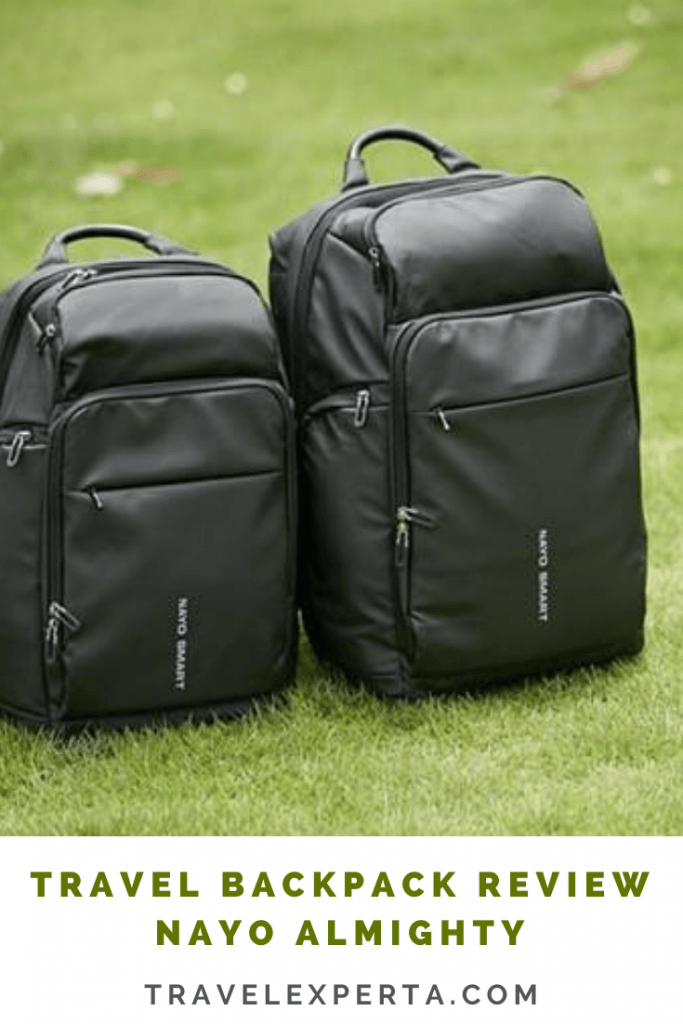travel backpack review nayo almighty