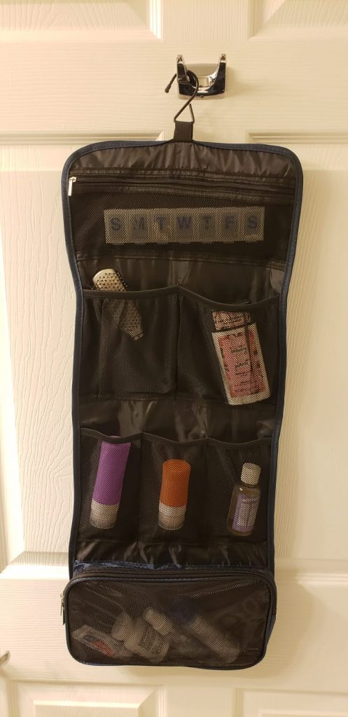 What I think About This Hanging Toiletry Travel Bag