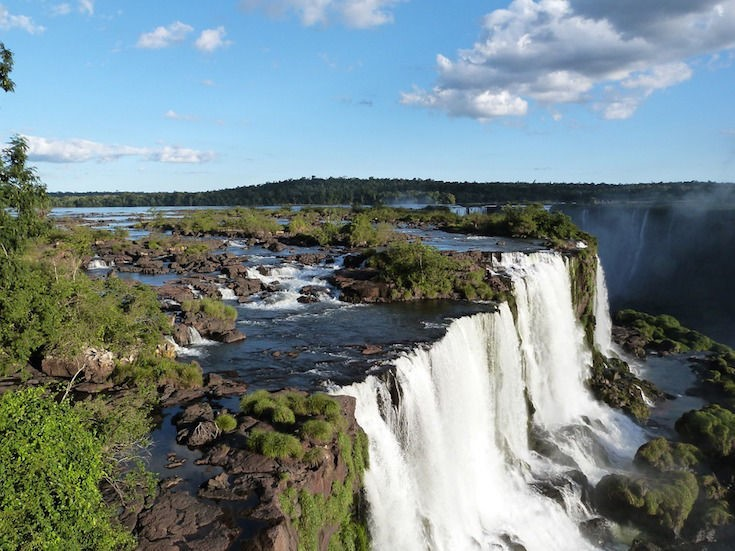 Top 10 Tourist Destinations in Latin America 2 -iguazu