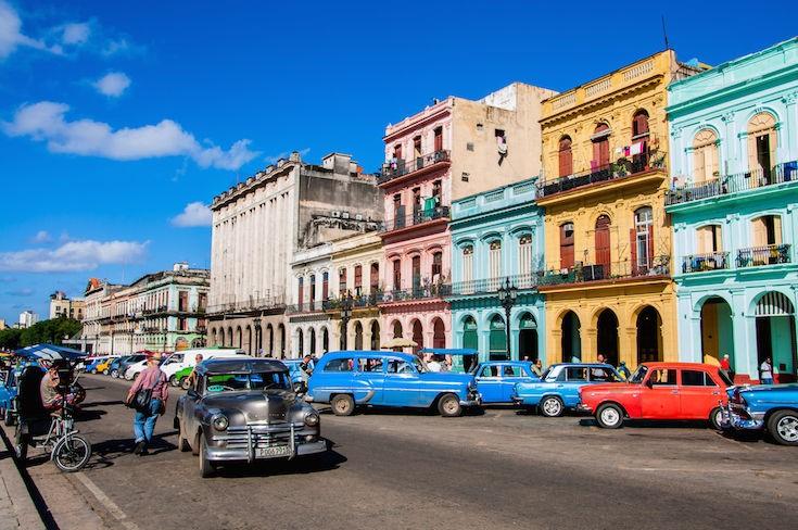 Top 10 Tourist Destinations in Latin America 9 - old havana