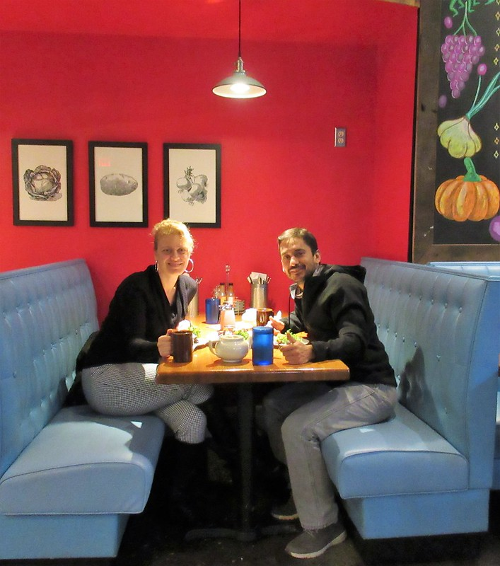Finding a Vegetarian Restaurant in Asheville, North Carolina - Early girl eatery