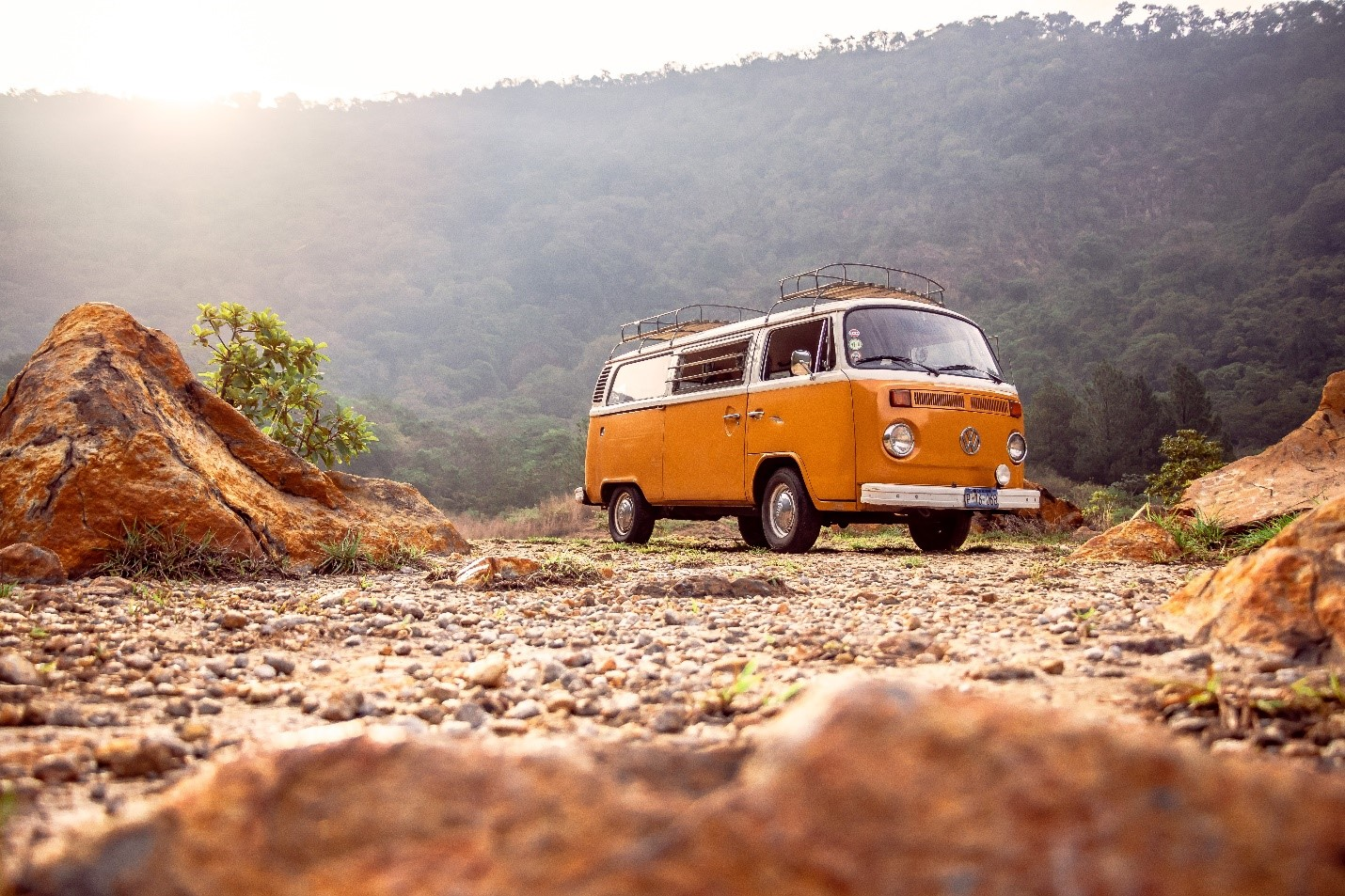 Traveling in New Zealand in A Self-contained Campervan