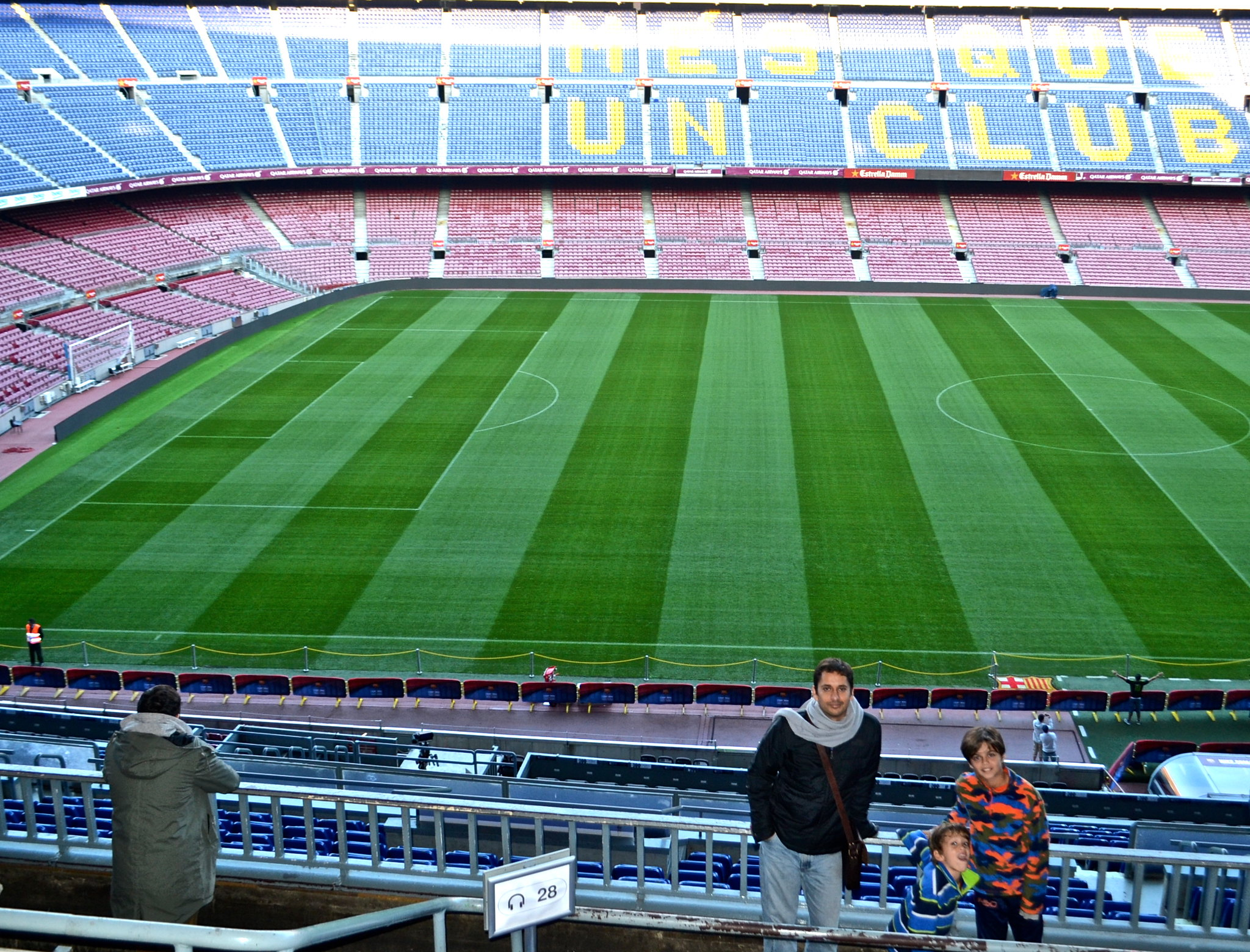 Places to Visit in Barcelona - camp nou