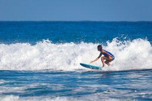 Surfer school.