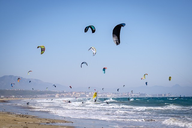 Beach Adventures You Shouldn't Miss When Visiting Europe - kite surfing
