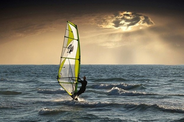 Beach Adventures You Shouldn't Miss When Visiting Europe - wind surfing