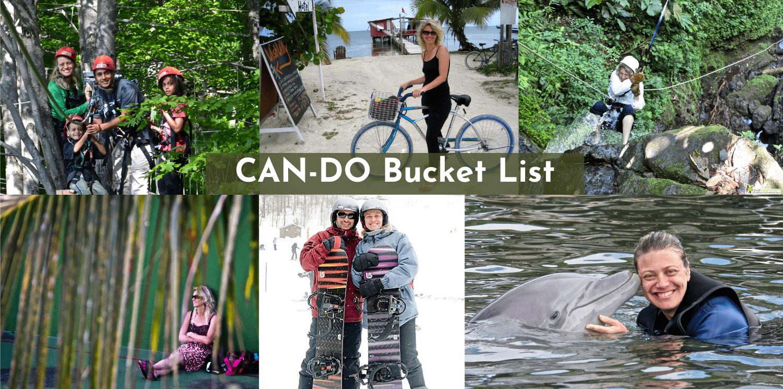 Can-Do Bucket List