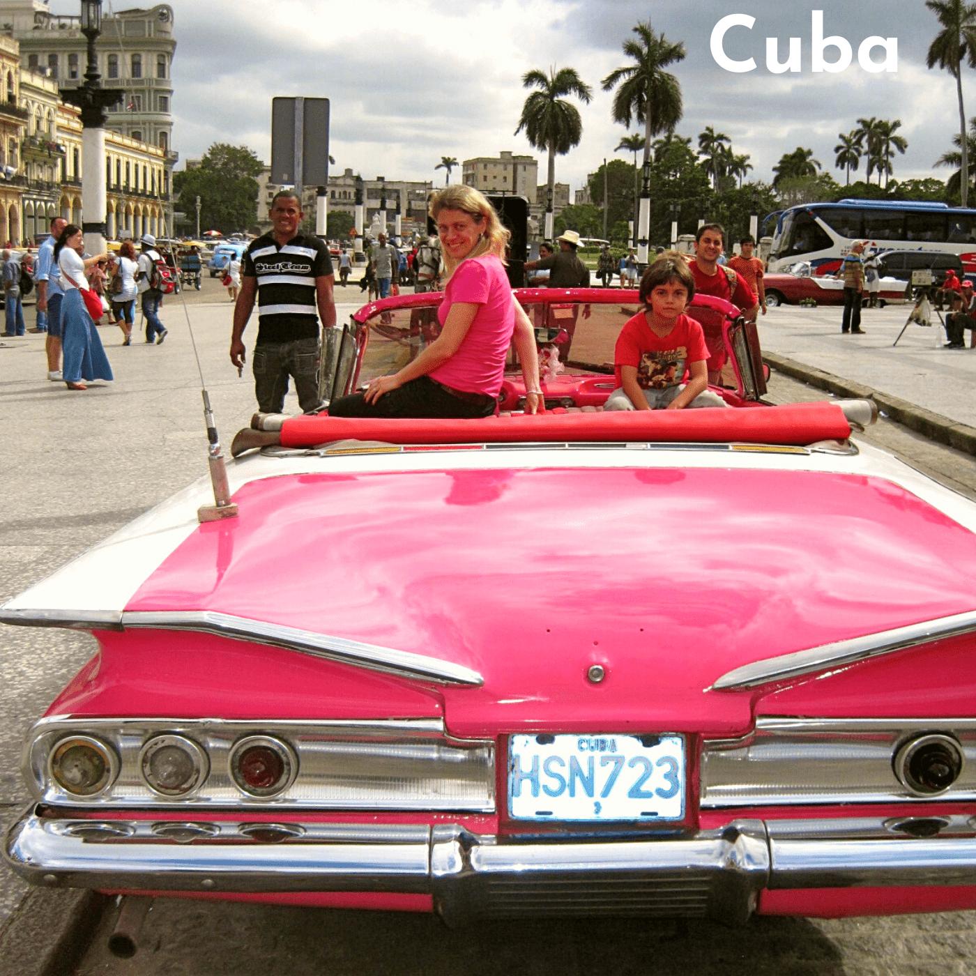 Cuba Bucket List