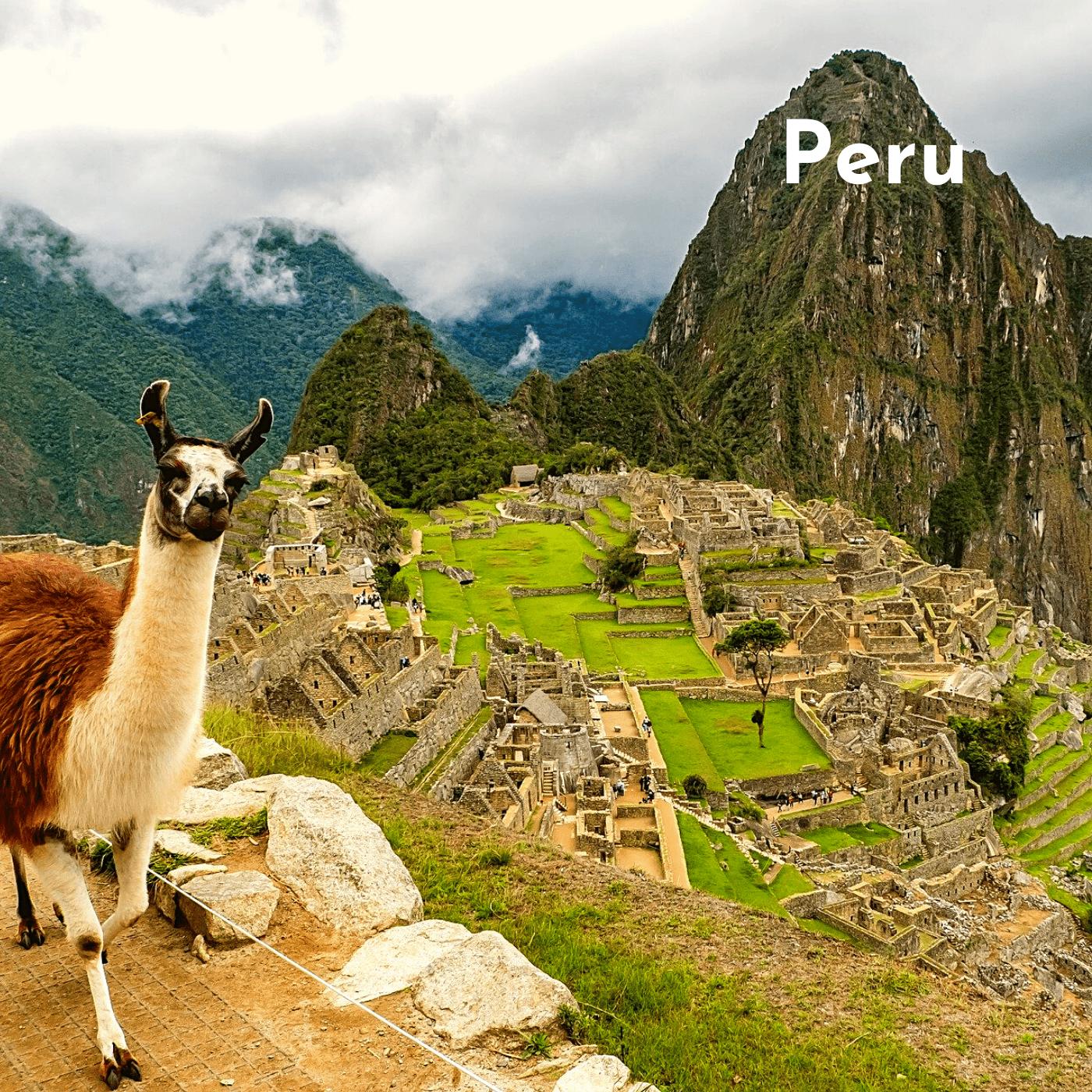 Peru Bucket List