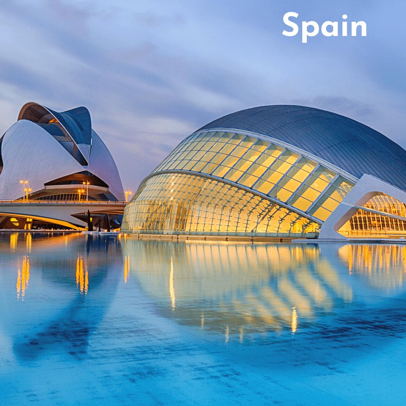 Spain Bucket List