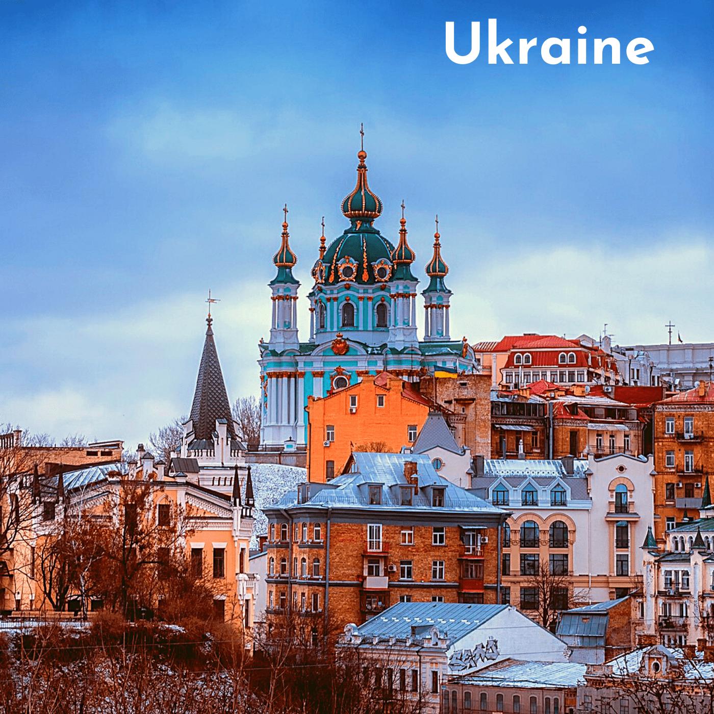 Ukraine Bucket List