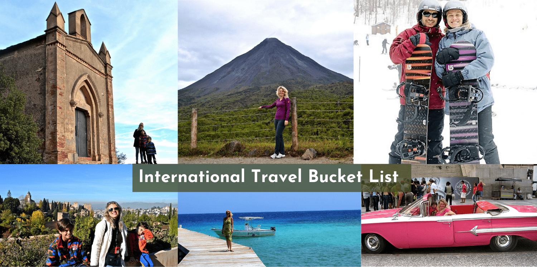 International Travel Bucket List