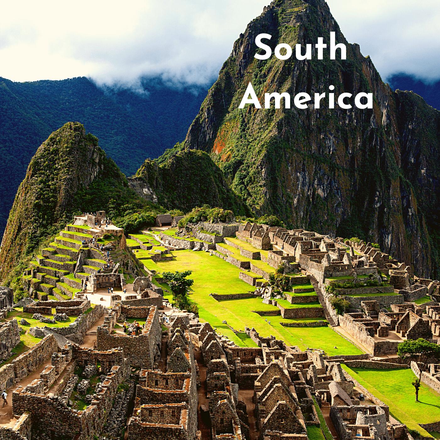 South America Bucket List