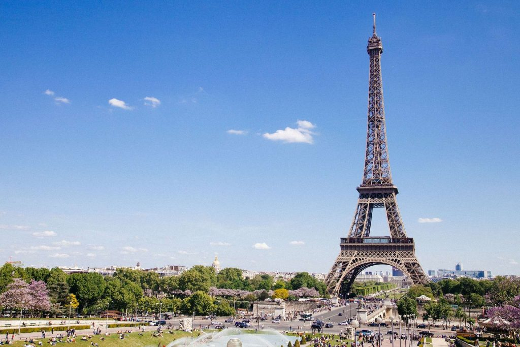 Most visited place: France